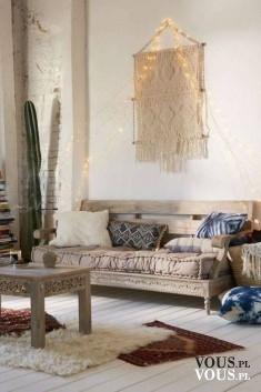 Piękne wnętrze, w stylu boho, wnętrze w stylu hippie, hipisowskim, Jak ułożyć i gdzie się zainsp ...