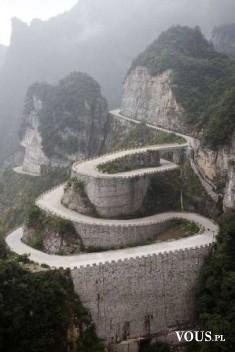 Bardzo wąska ścieżka, jak tam dojechać? droga w górach