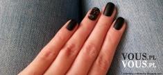 Czarne matowe