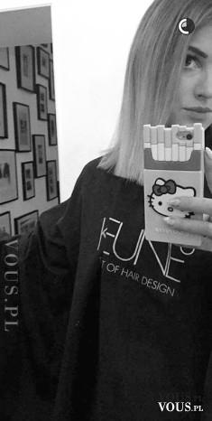 Maffashion obcięła włosy. Julia z bloga Maffashion ma nową fryzurę. Jest blondynką!
