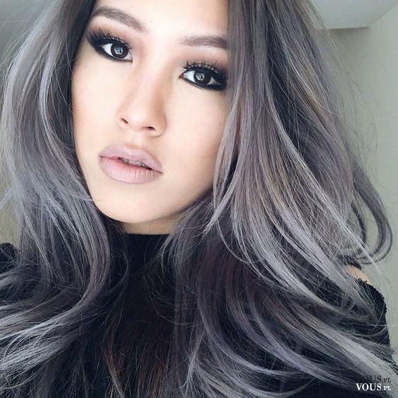 Siwe Włosy Vouspl