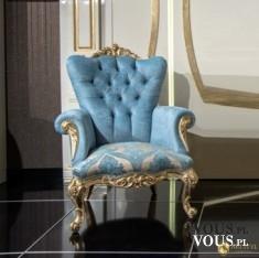 Fotel pikowany Gloriano