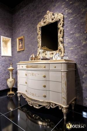 Toaletka z lustrem Gloriano