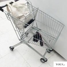 Koszyk na zakupy, czy można kraść wózki z marketów?