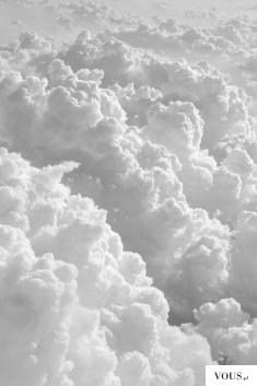 Białe chmury, jak tworzą się chmury?