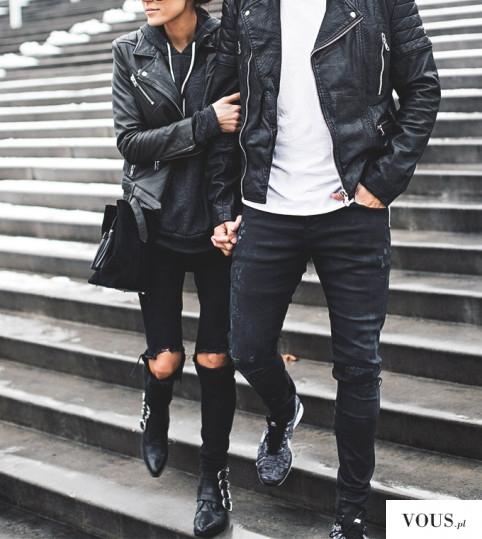 f a s h i o n ♡ zakochana stylowa para, czy zakochani mogą się podobnie ubierać? mają taki sam styl