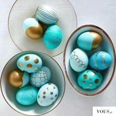 turkusowe jajeczka