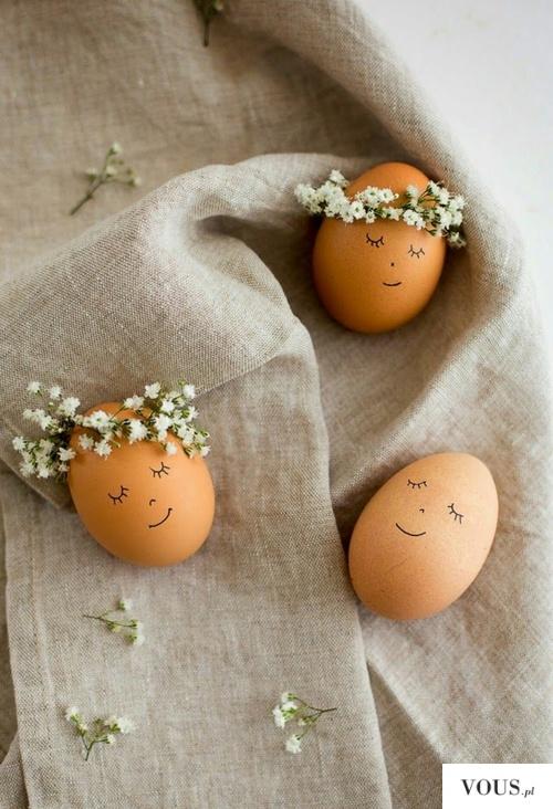 uśmiechnięte jajka