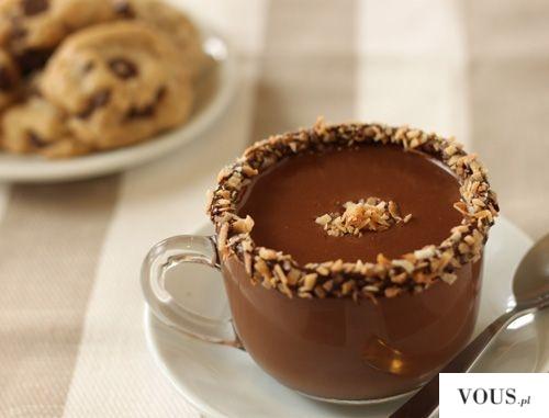 gorąca czekolada z orzechami