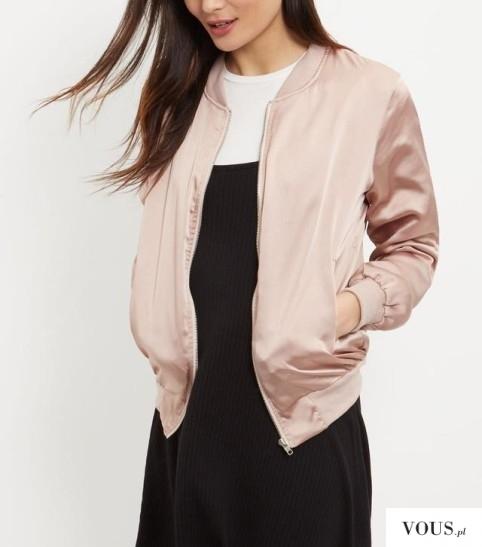 Nude bomber hit wiosny 2016. Gdzie kupić taką kurtkę / taki bomber różowy?
