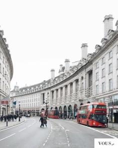 Piękna ulica w Londynie