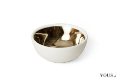 miska ze złotym środkiem / wnętrzem – Catbird Gold Glazed Bowl ($22)