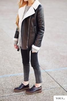 The Street Style – stylizacja z kurtką z futerrkiem