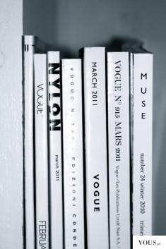 Książki, białe okładki
