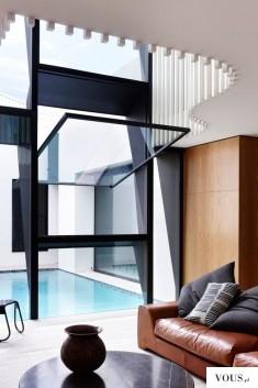 Dom z basenem, piękna architektura