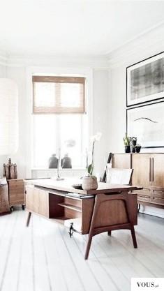 jasne, przestronne biuro, domowy kąt do pracy