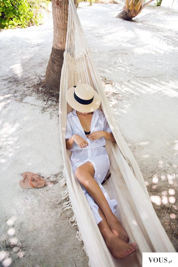 Relaks na hamaku. Jaki jest Twój ulubiony sposób na zrelaksowanie się? Leżałaś kiedyś na hamaku?