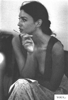 Młoda Monica Bellucci