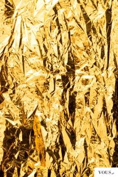 złota folia, złotko