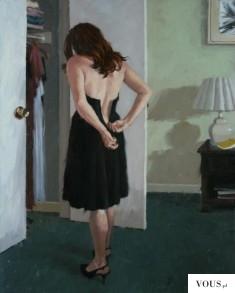 Zapinanie samemu sukienki. Czy łatwo zapiąć sukienkę na zamek z tyłu na plecach?