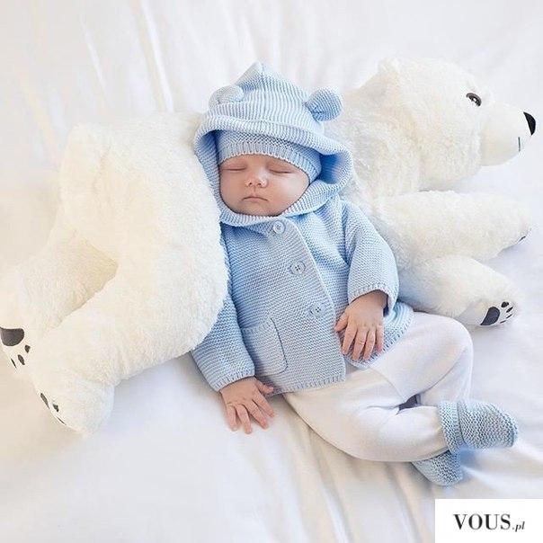 Dobranoc <3 śliczny, słodki dzieciaczek śpiący na pluszaku. Ile kosztuje sesja zdjęciowa dla  ...