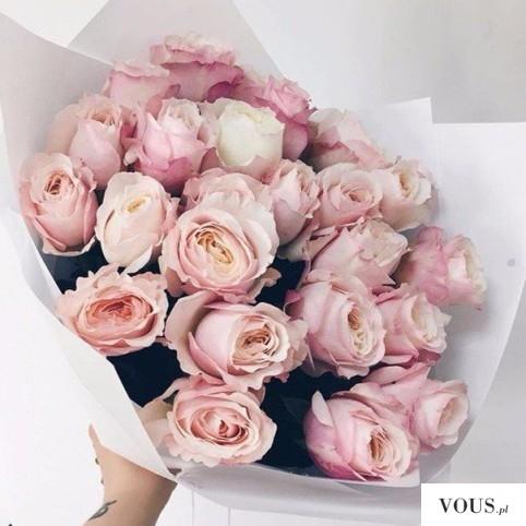 różowe róże, jaki kolor kwiatów najbardziej lubią kobiety?