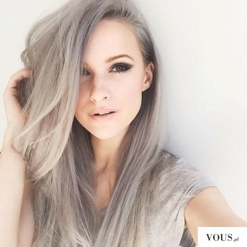 Siwe włosy, jak zafarbować siwe włosy