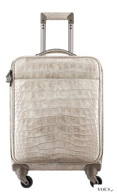 Trolley, alligator-beige – CHANEL