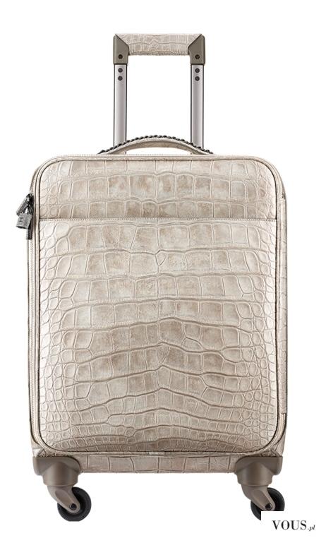 Trolley, alligator-beige – CHANEL