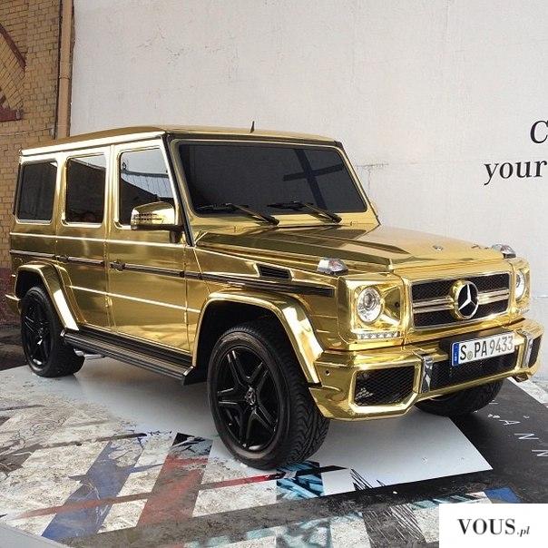 Złote auto