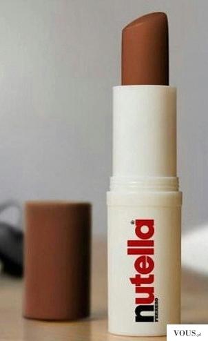 Gdzie kupić czekoladowa szminkę Nutella – ferrero – kinder?
