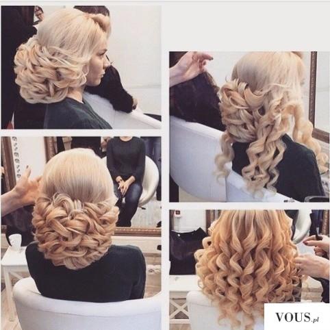Piękna weselna fryzura <3