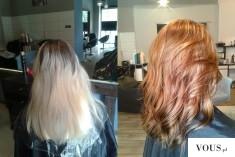 Metamorfoza włosów, z brązu na blond – z blondu na kasztan / miedź / rudy