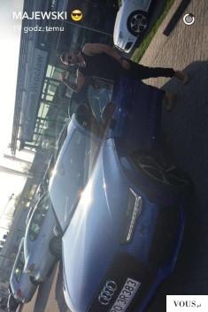 Daniel Majewski / Majewski trenuje dostał auto audi. Drogi samochód od Audi za 600tyś.