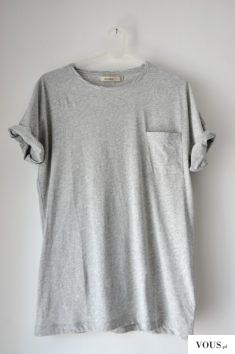 Zwykła szara koszulka, bazowa