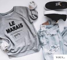 Bluza Le Marais Paris gdzie kupić?