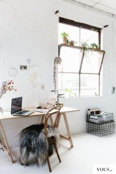 kreatywny wystrój wnętrza, przyjazny kącik do pracy