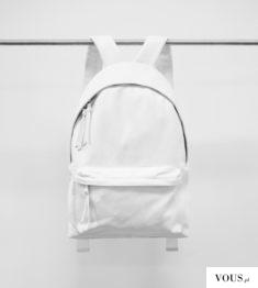 biały plecak, nie będzie się brudził??