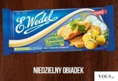 Wedel – biała czekolada z kawałkami schabowego :O