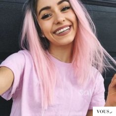 Różowe włosy *-*