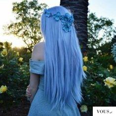 Błękitne włosy <3