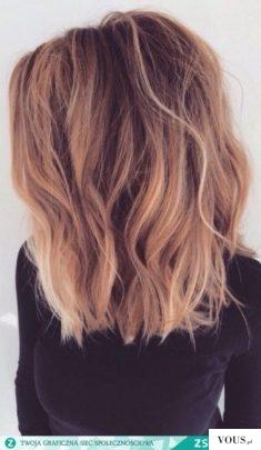 śliczne włosy