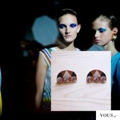 Ważkowa : Diy kolczyki Missoni, Fashion Week summer 2016