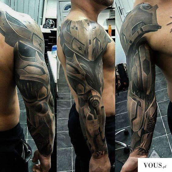 Pomysł Na Tatuaż Męski Rękaw Vouspl
