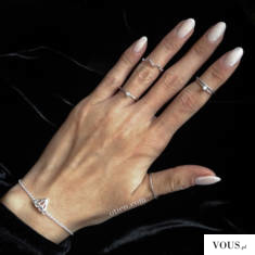 srebrna bransoletka diamond dostępna w sklepie OTIEN
