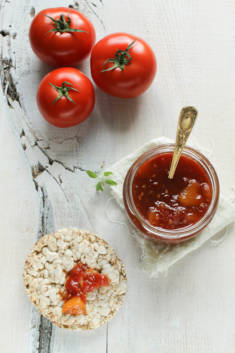 DŻEM POMIDOROWO-BRZOSKWINIOWY – CookMagazine