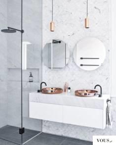 piękna jasna łazienka