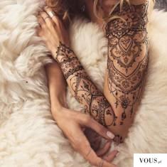 tatuaż kobiecy na ramieniu / ženské tetování na ruku /  tetování na předloktí pro ženy / tetován ...