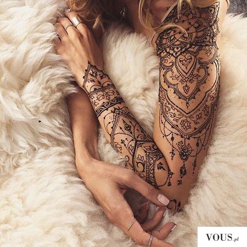 Tatuaż Kobiecy Na Ramieniu ženské Tetování Na Ruku