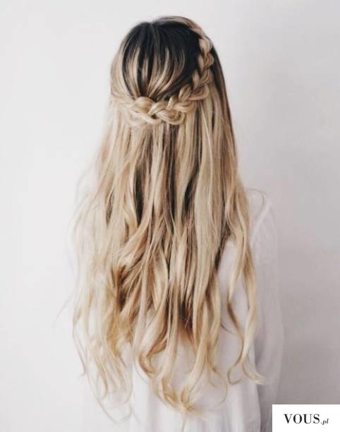 blond wlosy / blond vlasy a hnedy melir / hnědý melír do hnědých vlasůs / větle hnědé melíry do  ...